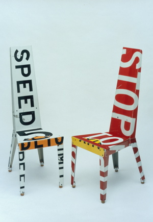 Recycled Cabin Home Furniture Made From Scrapped Metal